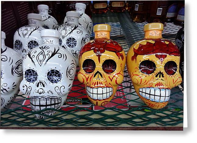 Tequila To Die For Greeting Card by ARTography by Pamela Smale Williams
