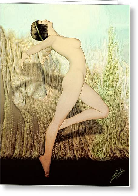 Terpsichore Muse Of Dance  Greeting Card