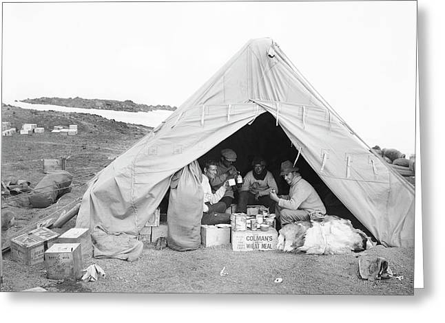 Terra Nova Camp In Antarctica Greeting Card