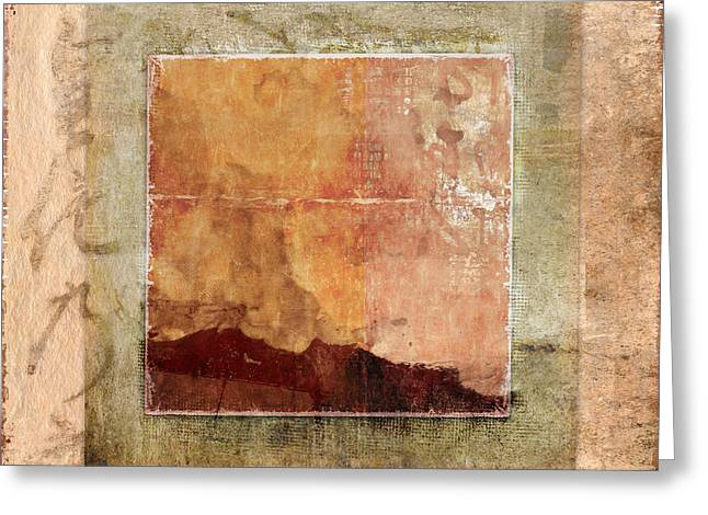 Terracotta Earth Tones Greeting Card