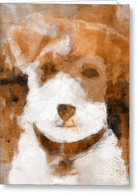 Terrier II Greeting Card