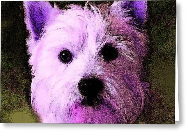Terrier Love Greeting Card