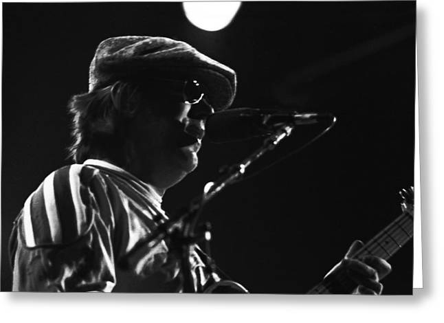 Terry Kath 1976 Greeting Card by Ben Upham