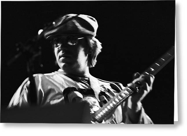 Terry Kath At The Cow Palace In 1976 Greeting Card by Ben Upham