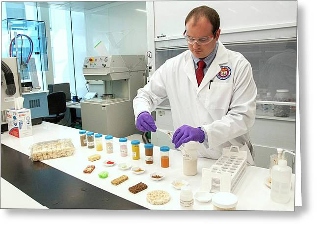 Testing Rice For Arsenic Greeting Card by Food & Drug Administration