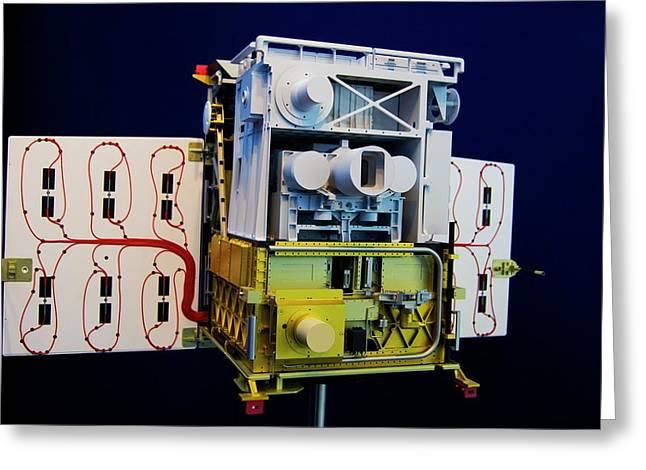 Tet-1 Mini-satellite Greeting Card