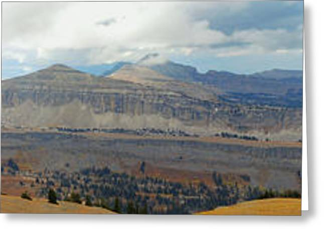 Greeting Card featuring the photograph Teton Canyon Shelf by Raymond Salani III