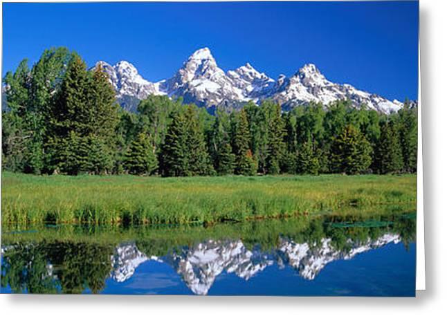 Teton Range Grand Teton National Park Greeting Card