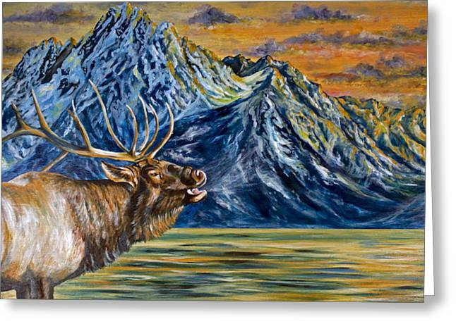 Teton Song Greeting Card
