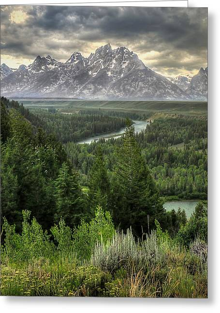 Teton Visions Greeting Card