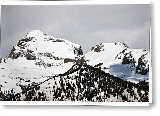 Tetons Panorama Greeting Card
