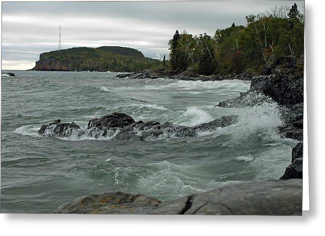 Tettegouche State Park Greeting Card by James Peterson