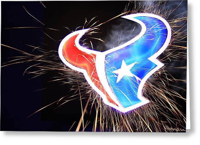 Texans Greeting Card