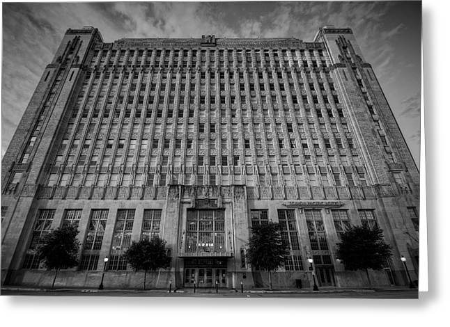 Texas And Pacific Lofts Greeting Card by Joan Carroll