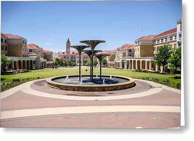 Texas Christian University Campus Commons Photograph By