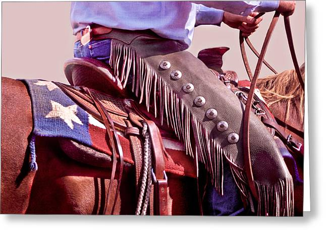 Texas Cowboy Greeting Card