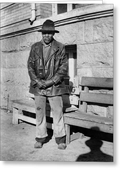 Texas Former Slave, 1937 Greeting Card