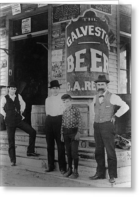 Texas Galveston, 1898 Greeting Card
