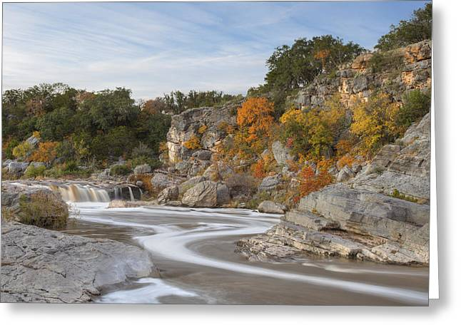 Texas Hill Country Colors 1 Greeting Card by Rob Greebon