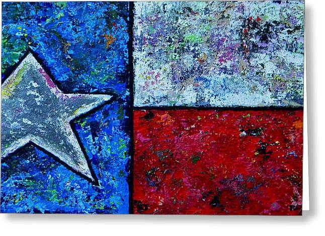 Texas In Color Greeting Card