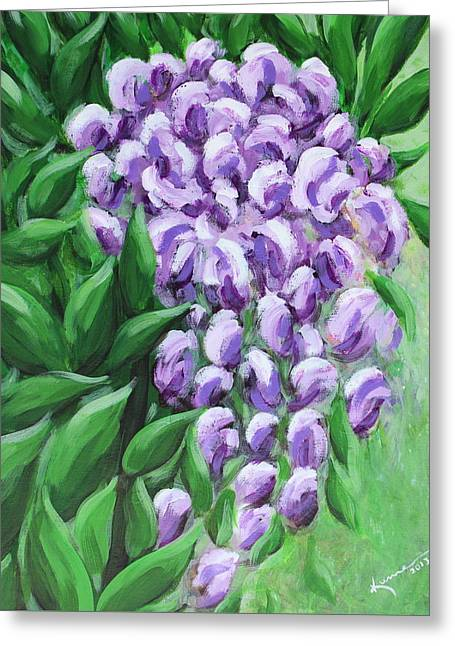 Texas Mountain Laurel Greeting Card