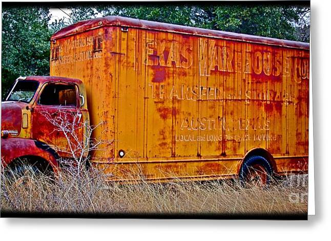 Texas Moving Co. - No.0651d Greeting Card by Joe Finney