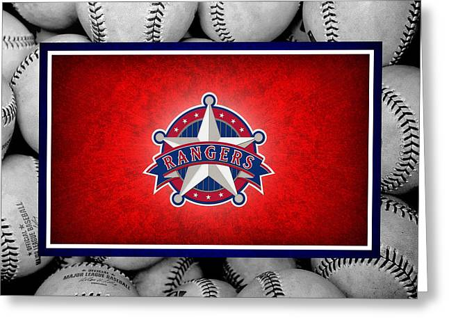 Texas Rangers Greeting Card