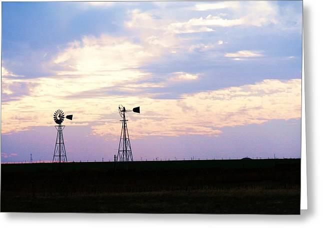 Texas Sky Greeting Card