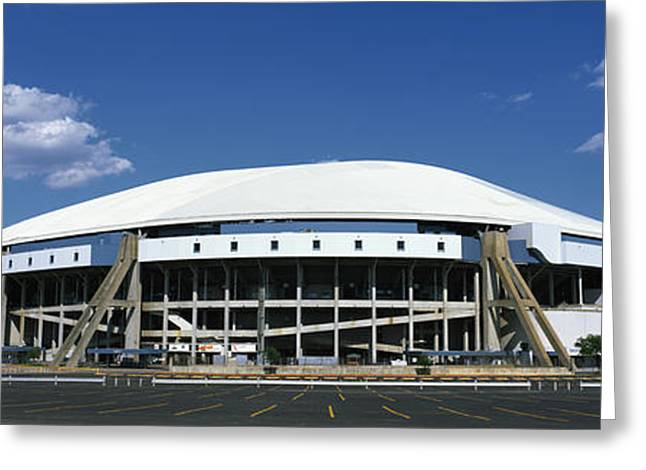 Texas Stadium Greeting Card by Panoramic Images