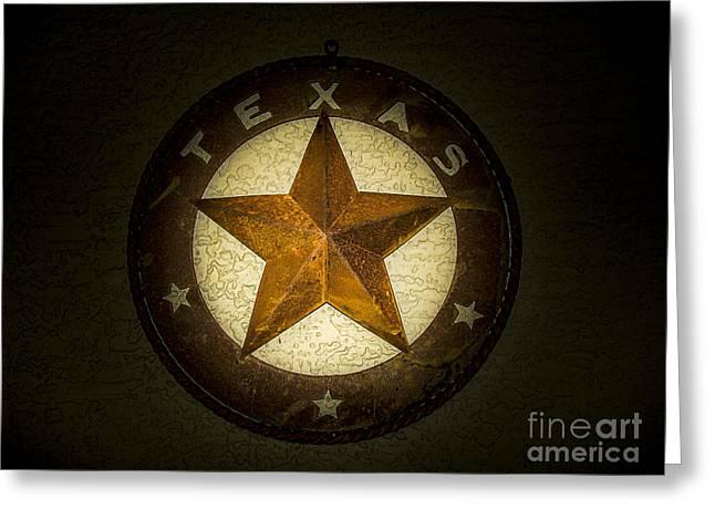 Texas Star Greeting Card