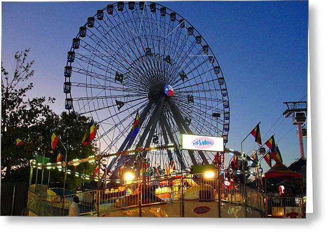Texas State Fair Greeting Card