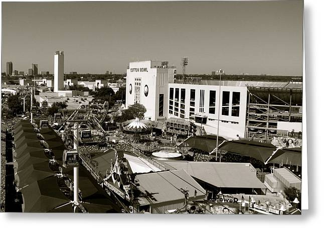 Texas State Fair II Greeting Card by Anita Lewis