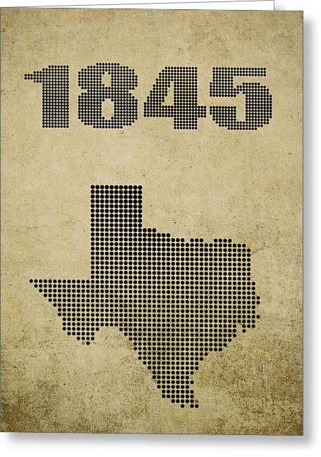Texas Statehood Greeting Card
