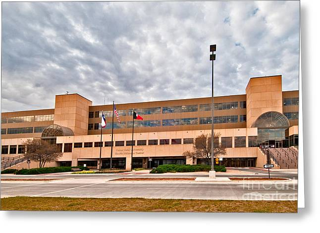 Greeting Card featuring the photograph Texas Tech Health Science Center by Mae Wertz