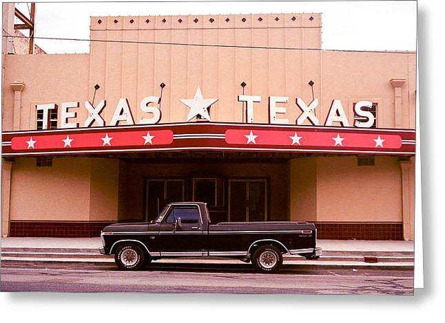 Texas Texas Greeting Card