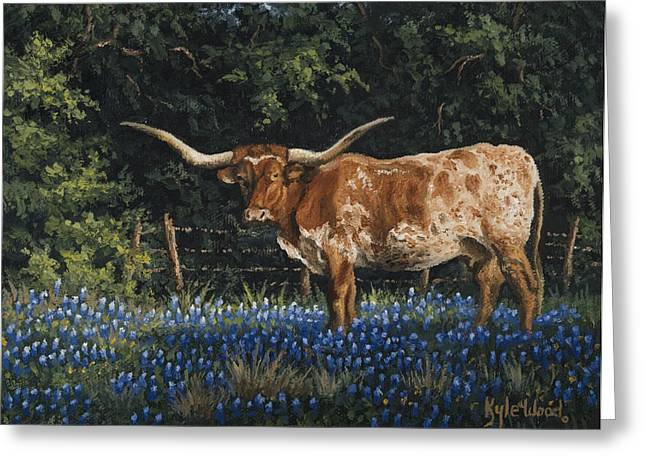 Texas Traditions Greeting Card by Kyle Wood