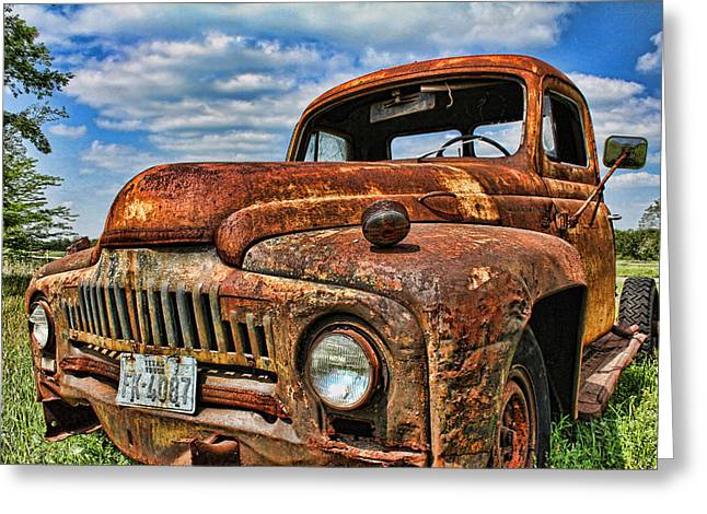 Greeting Card featuring the photograph Texas Truck by Daniel Sheldon