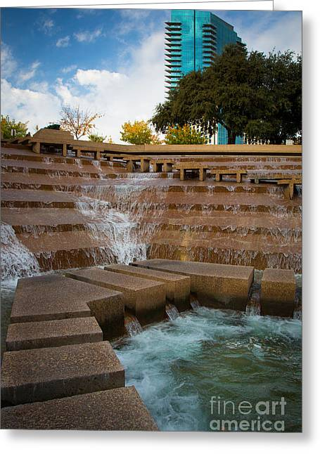 Texas Water Gardens Greeting Card by Inge Johnsson