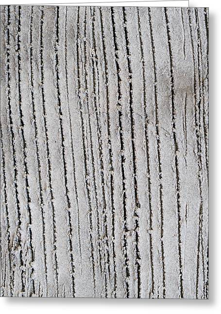 Textured Concrete Greeting Card by Hakon Soreide