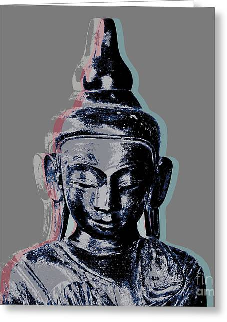 Thai Buddha #2 Greeting Card