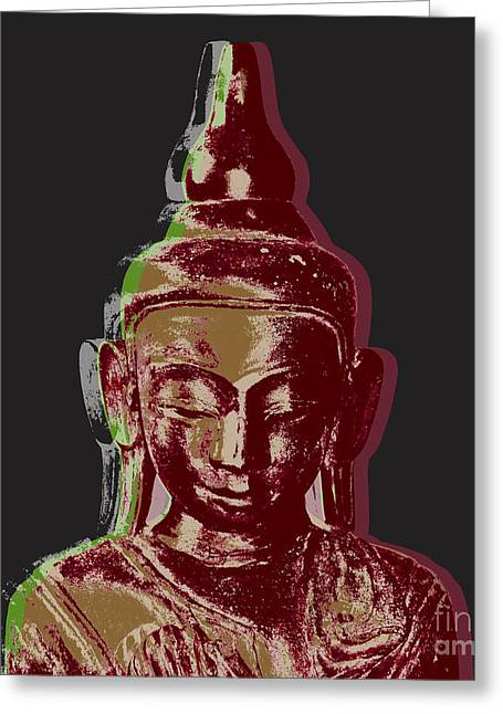 Thai Buddha #3 Greeting Card