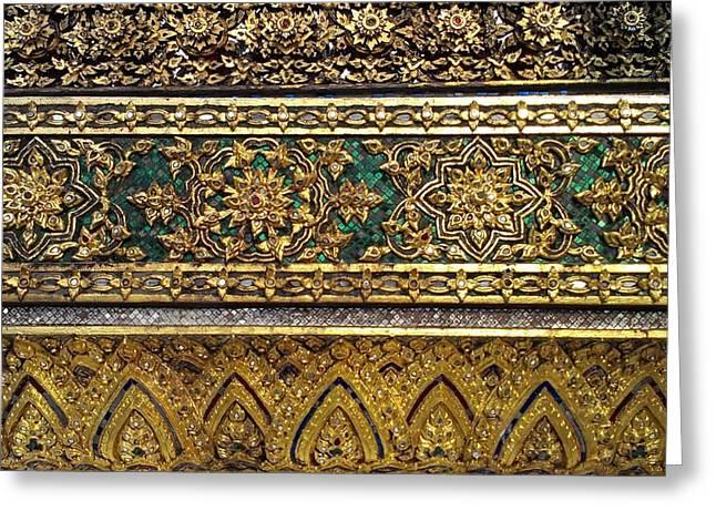 Thai Kings Grand Palace Greeting Card