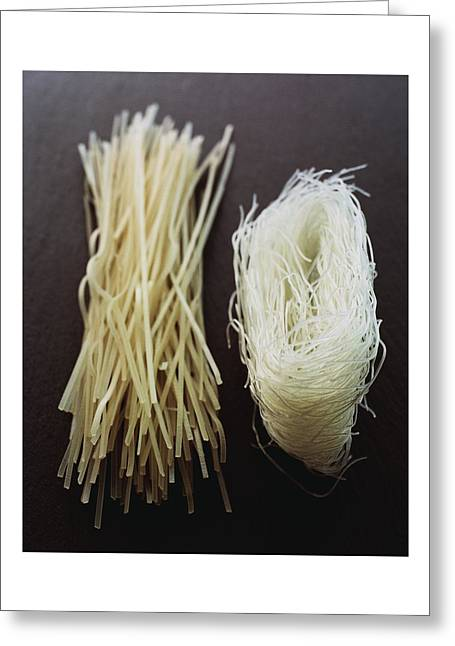 Thai Rice Noodles Greeting Card