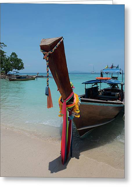 Thailand, Phuket, Andaman Sea Greeting Card by Cindy Miller Hopkins