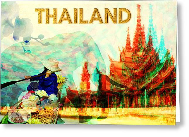 Thailand Greeting Card