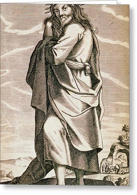 Thales Of Miletus Greeting Card