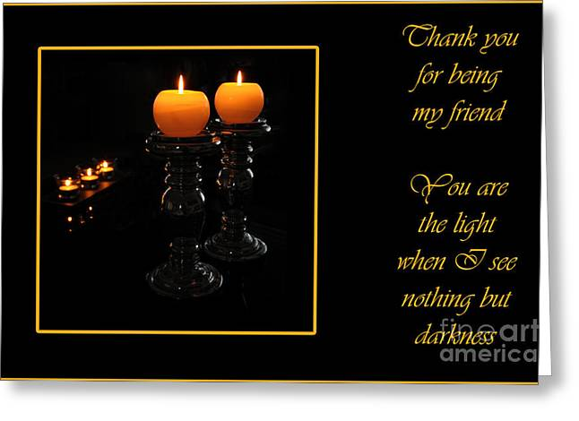 Greeting Card featuring the photograph Thank You  by Randi Grace Nilsberg