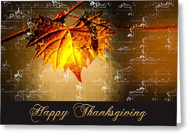 Thanksgiving Card Greeting Card
