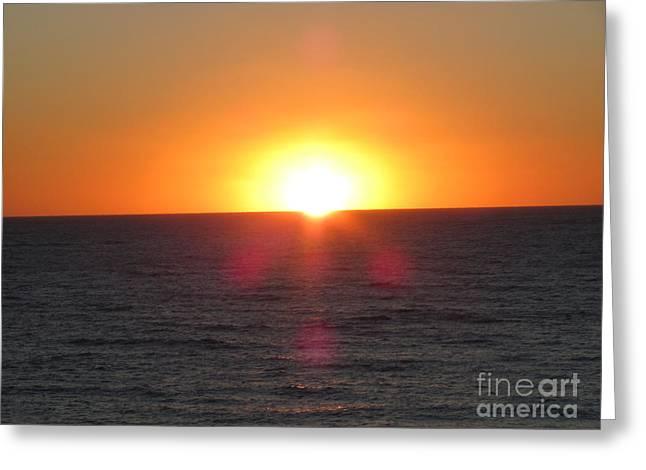 Thanksgiving Sunset Greeting Card