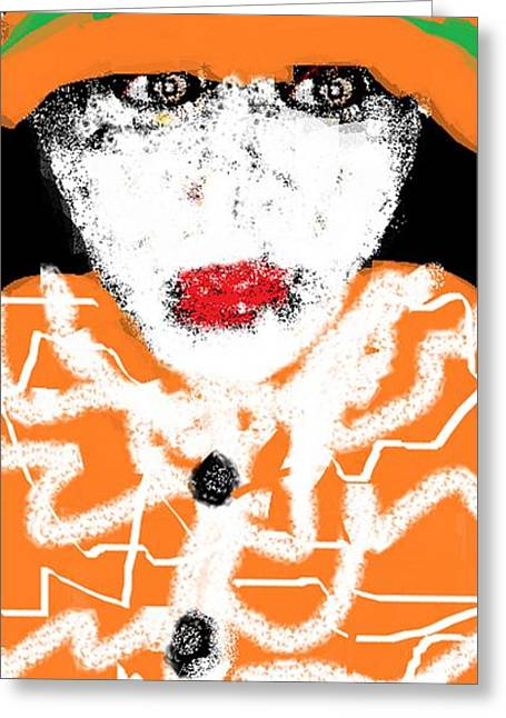 That Look Greeting Card by Rc Rcd